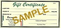 PEC-GIFT CERTIFICATE - Product Image