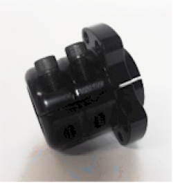 Double lock rear wheel hub - Product Image